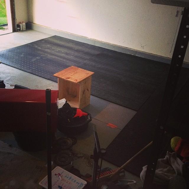 Gym flooring for garage multi purpose rubber floor mats for garage